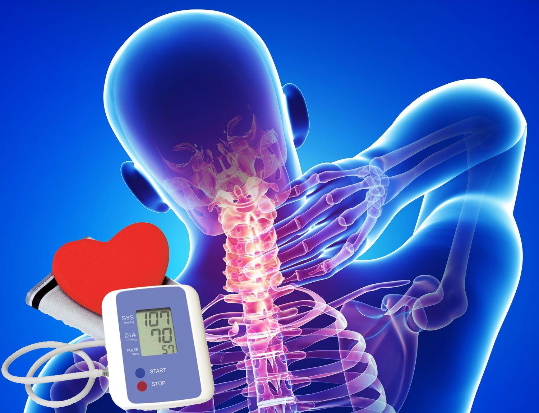 magas vérnyomás az osteochondrosis kezelés hátterében