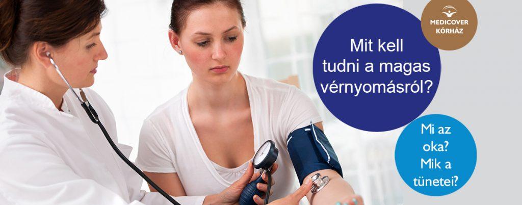 kórházi vizsgálat magas vérnyomás miatt