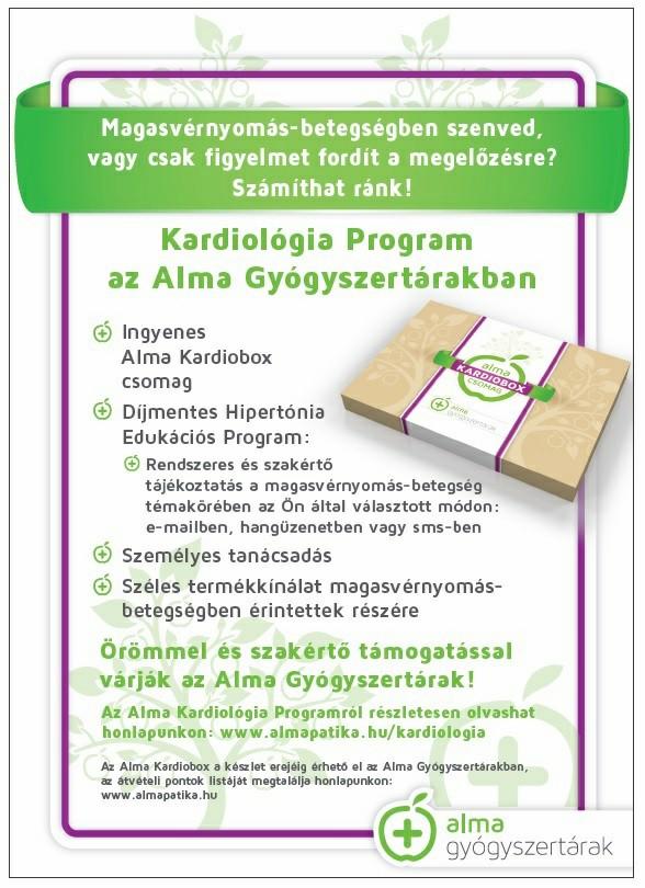 program egészséges hipertónia