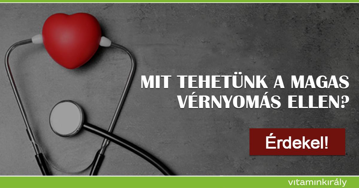 Természetes megoldás a magas vérnyomás ellen - ProVitamin Magazin