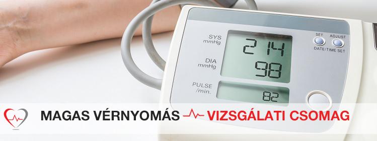 magas vérnyomás klinika