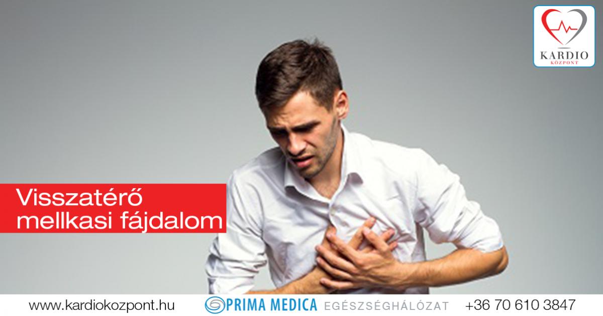 Honnan tudható, hogy szív eredetű a mellkasi fájdalom?