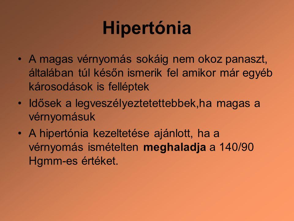 magas vérnyomás kialakulása)