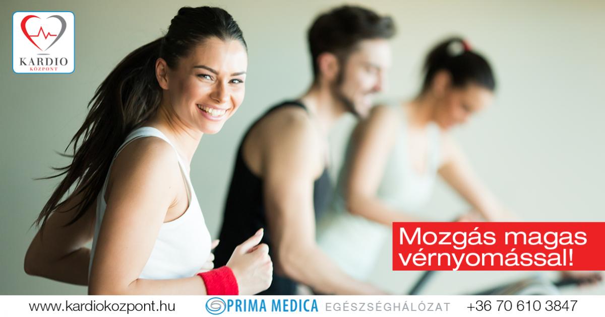 magas vérnyomás kezelés mozgással