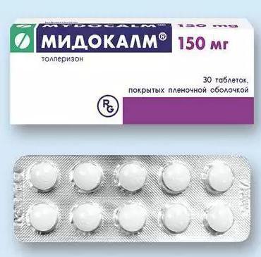Mydocalm és ibuprofen kompatibilitás
