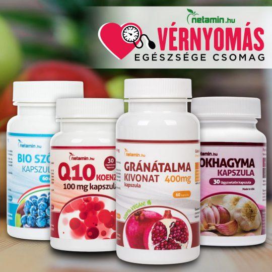 vitaminok a magas vérnyomás kezelésére