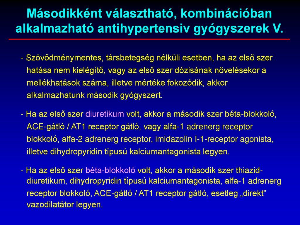 alfa 2 adrenerg blokkolók magas vérnyomás esetén)