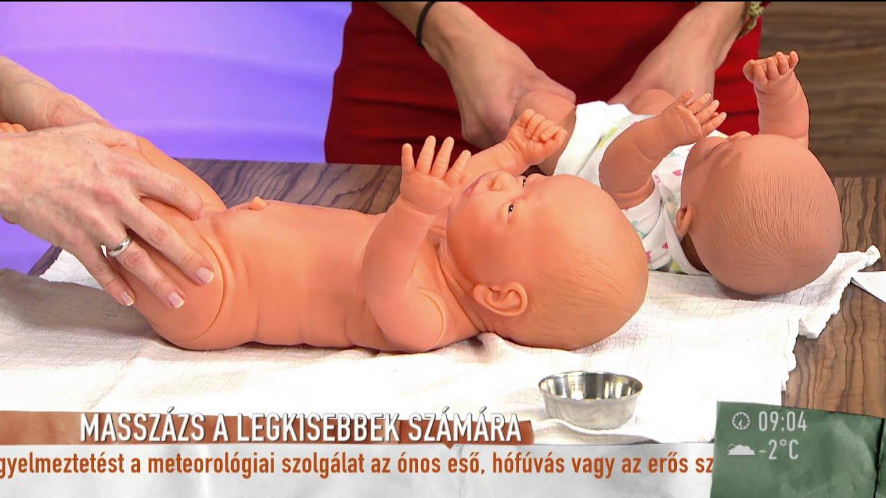 masszázs hipertónia csecsemőknél videó magas vérnyomás és vér köhögéskor