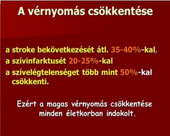 magas vérnyomás és a stroke kezelése