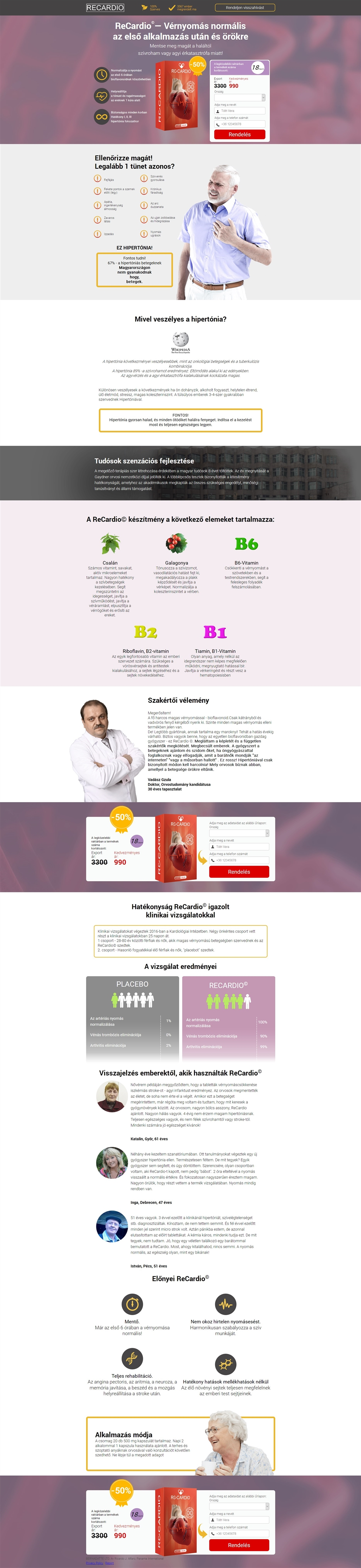 aritmia hipertónia gyógyszerek)