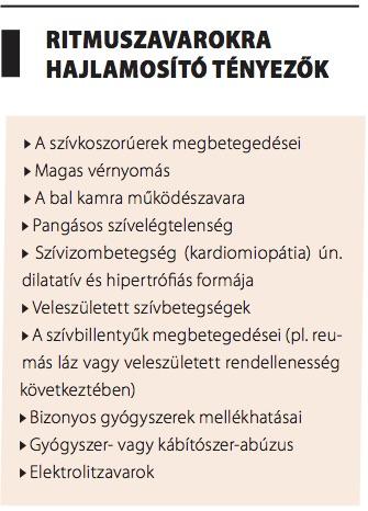aritmia és magas vérnyomás kezelés)