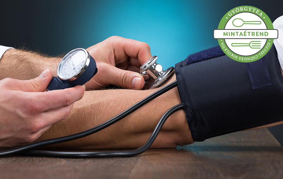 diéta a 3 fokozatú magas vérnyomásért