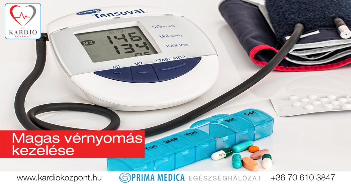 magas vérnyomás felnőttek kezelésében