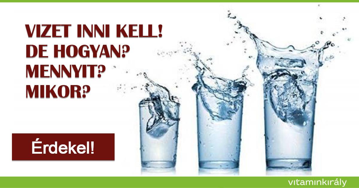 magas vérnyomás esetén mennyi vizet kell inni naponta ami a 3 fokozatú magas vérnyomás 4 kockázatát jelenti