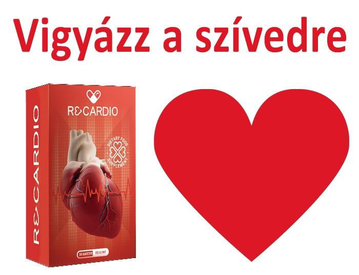 magas vérnyomás szív hangok