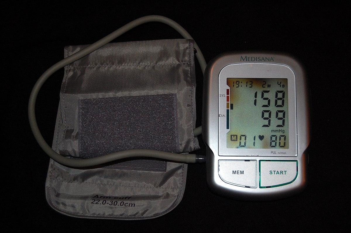 A magas vérnyomás 3 szakasza